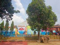 SMAN 9 Bandarlampung Bangun Taman Literasi