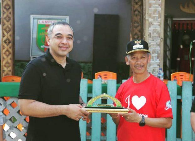 H. Sujadi Sambut Bupati Tangerang Off Road di Pringsewu