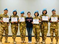 Peran Penting Wanita TNI Dalam Satgas MPU UNIFIL, Bantu Wanita dan Anak di Lebanon