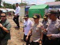Kapolri dan Panglima TNI Tinjau Pemulihan Daerah Pasca Gempa Bumi di Lombok