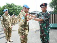 Kontingen Garuda XXXV-D Kembali dari Sudan dengan Catatan Outstanding